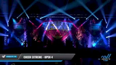 Cheer Extreme - Open 4 [2021 L4 International Open Coed Day 2] 2021 Spirit Sports: Battle at the Beach