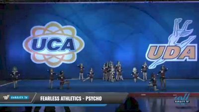 Fearless Athletics - Psycho [2020 L2 Junior - Small - D2 Day 2] 2020 UCA Smoky Mountain Championship