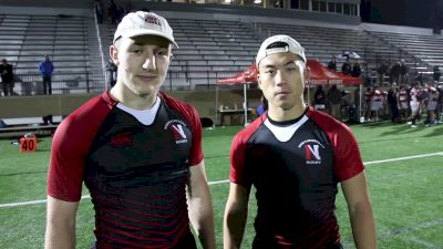 McElhinney and Chan Of Northeastern