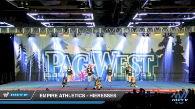 Empire Athletics - Hieresses [2020 L3 Junior - D2 - Small - A Day 2] 2020 PacWest