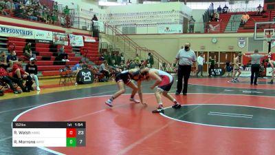 152 lbs Semifinal - Rocco Welsh, Waynesburg vs Roman Morrone, Williamsport