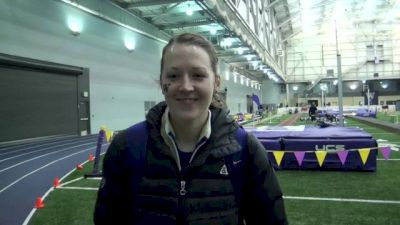 Christine Babcock first mile PR in four years at 2013 Husky Classic