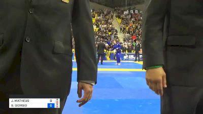 JOSÉ MATHEUS MACEDO DE LIRA LUNA vs BRIAN GIORGIO 2019 World Jiu-Jitsu IBJJF Championship