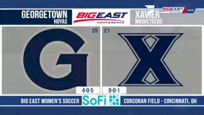 Replay: Georgetown vs Xavier | Sep 26 @ 1 PM