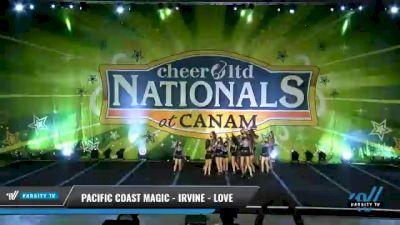 Pacific Coast Magic - Irvine - Love [2021 L1 Junior - Small Day 1] 2021 Cheer Ltd Nationals at CANAM