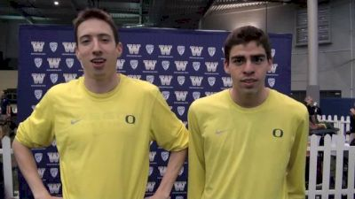 Two more sub-4 Ducks [@Matt Miner] and Jeremy Elkaim at 2013 MPSF Champs
