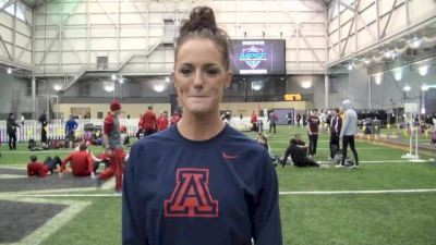 Georganne Moline ready to win an NCAA title after 2013 MPSF Champs