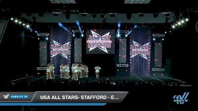 USA All Stars- Stafford - Entourage [2020 L4.2 Senior - Small Day 2] 2020 JAMfest Cheer Super Nationals
