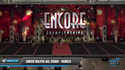 Cheer Militia All Stars - Rebels [2021 L1.1 Youth - PREP Day 1] 2021 Encore Championships: Pittsburgh Area DI & DII
