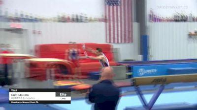 Sam Mikulak - Vault, U.S.O.P.T.C. Gymnastics - 2021 April Men's Senior National Team Camp