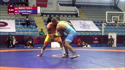 77 kg Semifinal - Reinier Jimenez Terry, Guatalema vs Joilson De Brito Ramos Junior, Brazil