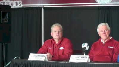 Coach Bucknam not worried about Arkansas coming in at #1