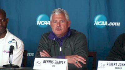 Coach Shaver and LSU concentrating not on 1, but 2 days of action