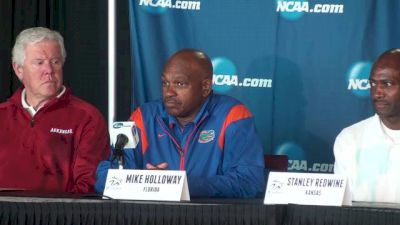 The Florida and Arkansas men aren't worried about the 800m