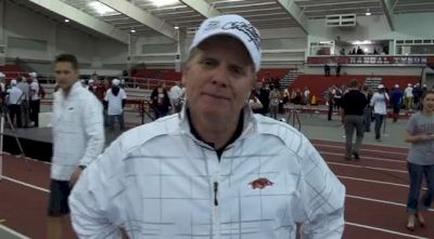 Chris Bucknam Credits Staff for Breakthrough Title 2013 NCAA Indoor Track and Field Championships