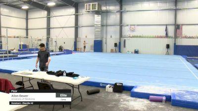 Allan Bower - Floor, University of Oklahoma - 2021 April Men's Senior National Team Camp