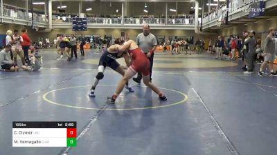 Quarterfinal - Caleb Clymer, Lock Haven vs Mike Vernagallo, Clarion