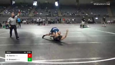165 lbs Semifinal - Keaton Geerts, Iowa Central vs Seth Brossard, Rctc