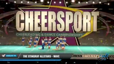 The Stingray Allstars - Wave [2021 L1 Junior - Small - A Day 2] 2021 CHEERSPORT National Cheerleading Championship