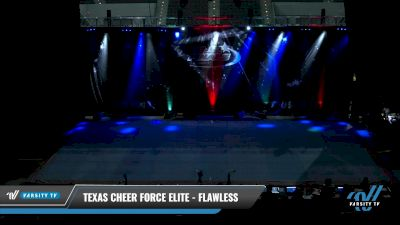 Texas Cheer Force Elite - FLAWLESS [2021 L1 Mini - Novice Day 2] 2021 The U.S. Finals: Pensacola