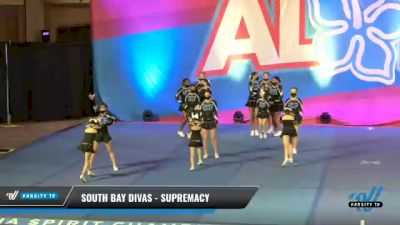 South Bay Divas - Supremacy [2021 L2 Youth - Small Day 2] 2021 Aloha DI & DII Championships