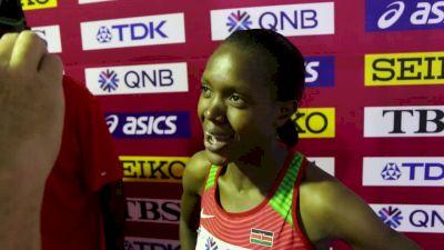 Faith Kipyegon Moves On In 1500m