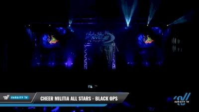 Cheer Militia All Stars - Black Ops [2021 L3 Senior Day 1] 2021 The U.S. Finals: Myrtle Beach
