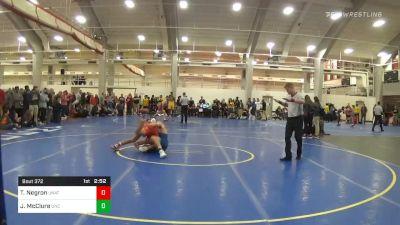 Quarterfinal - Tony Negron, Unattached vs Josh McClure, UNC Unattached