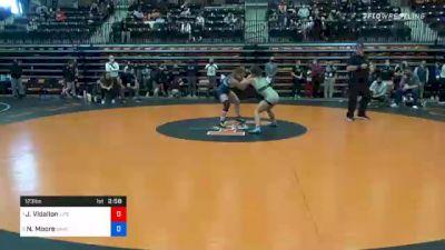 123 lbs Semifinal - Julia Vidallon, Life vs Nichole Moore, Baker