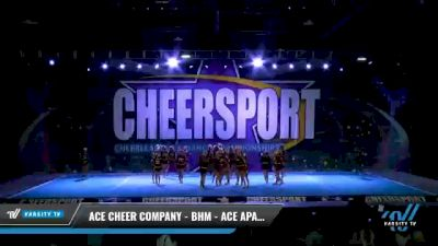 ACE Cheer Company - BHM - ACE Apaches [2021 L4 Junior - Medium Day 1] 2021 CHEERSPORT National Cheerleading Championship