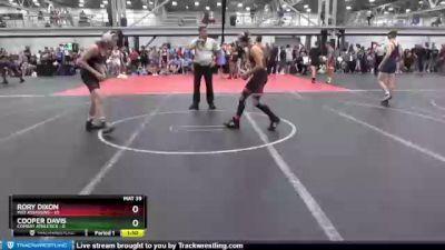 113 lbs Round 4 (8 Team) - Rory Dixon, Mat Assassins vs Cooper Davis, Combat Athletics
