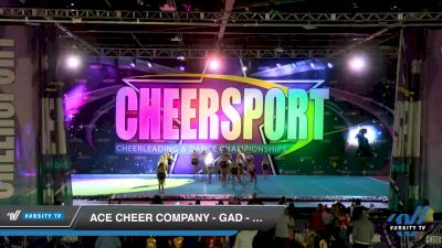 ACE Cheer Company - GAD - Ouchitas [2020 Junior Small 2 Division C Day 2] 2020 CHEERSPORT National Cheerleading Championship