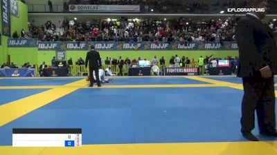 MARIA SANTOS vs CLAUDIA DOVAL 2019 European Jiu-Jitsu IBJJF Championship