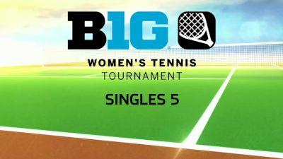 Full Replay - 2019 B1G Tennis Championship | Big Ten Women's Tennis - Singles 5 - Apr 28, 2019 at 12:55 PM EDT