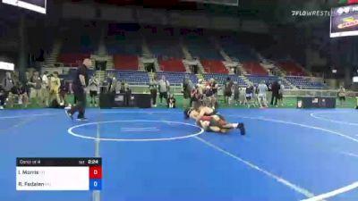 145 lbs Consi Of 4 - Ivan Morris, Colorado vs Richard Fedalen, Maryland