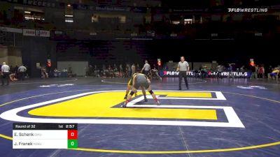 157 lbs Prelims - Evan Schenk, Gardner Webb vs Jared Franek, North Dakota State