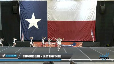 Thunder Elite - Lady Lightning [2021 L1 Youth - D2 - Small Day 2] 2021 ACP Power Dance Nationals & TX State Championship
