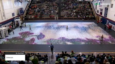 Emanon at 2019 WGI Guard East Power Regional