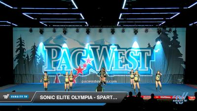 Sonic Elite Olympia - Spartans [2019 Senior - Small 2 Day 2] 2019 PacWest