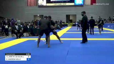 HELTON JOSÉ M. DA SILVA JUNIOR vs ELIOT ANDREW KELLY 2021 World IBJJF Jiu-Jitsu No-Gi Championship