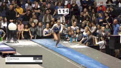 Kendal Poston - , UCLA - 2020 California Grand Invitational & Collegiate Challenge