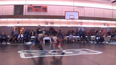 77 kg Quarterfinal - Mason Manville, Nittany Lion Wrestling Club vs Andrew Berreyesa, New York Athletic Club