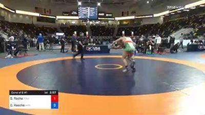 67 kg Consolation - Saul Rocha, Texas vs Colton Rasche, Marines