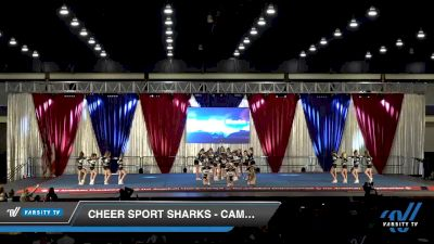 Cheer Sport Sharks - Cambridge - Blacktip Sharks [2020 L1 Youth - Medium Day 2] 2020 The American Majestic DI & DII