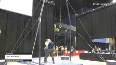Sam Montague - Still Rings, UIC - 2021 Men's Collegiate GymACT Championships