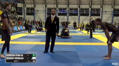 Gordon Ryan vs Johnny Morgan 2015 IBJJF No-Gi Worlds