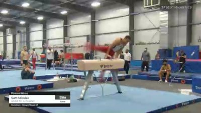 Sam Mikulak - Pommel Horse, U.S.O.P.T.C. Gymnastics - 2021 April Men's Senior National Team Camp
