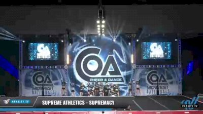 Supreme Athletics - Supremacy [2021 L3 Senior Coed Day 2] 2021 COA: Midwest National Championship