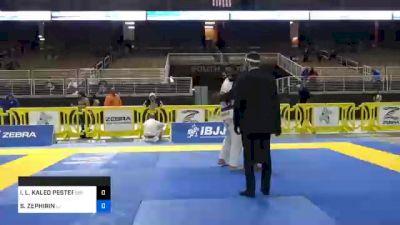IAN L. KALEO PESTER BATISTA vs SALRON ZEPHIRIN 2020 IBJJF Orlando International Open Jiu-Jitsu Championship