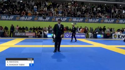 ARIEL SHACHER TABAK vs BRIAN MAHECHA 2020 European Jiu-Jitsu IBJJF Championship